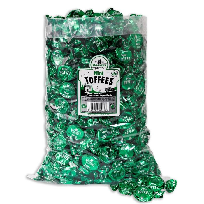 JG Walkers Nonsuch Mint Toffees 100g