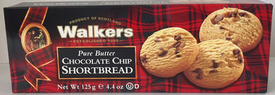 Walkers Shortbread Chocolate Chip 4.4oz box #1149