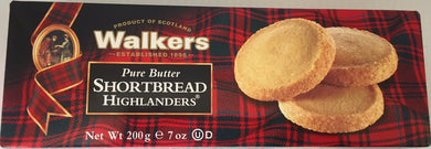 Walkers Shortbread Highland 7oz box #144