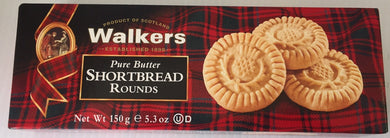 Walkers Shortbread Rounds 5.3oz box  #140