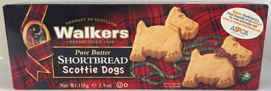 Walkers Scottie Dog Shortbread 3.9oz  #1813