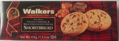 Walkers Shortbread Salted Caramel & Milk Chocolate Chunk 5.3oz # 1564