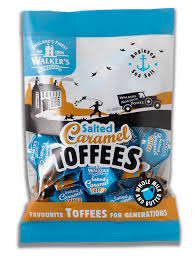 Walkers Nonsuch Salted Caramel Toffee Bag 150g