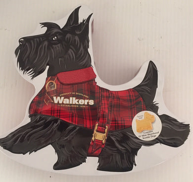 Walkers Shortbread Rockin Scotty Dog Tin # 1818