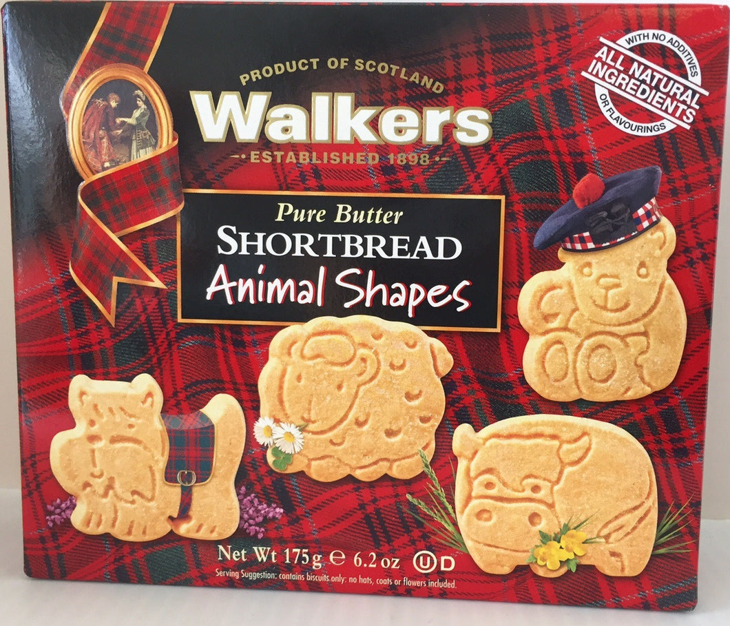 Walkers Animal Shapes 6.2 oz #1570