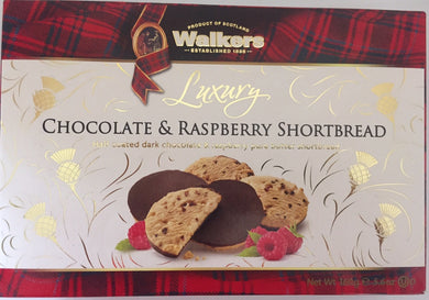 Walkers Shortbread Luxury Dark Chocolate Raspberry Shortbread 5.6oz # 4644