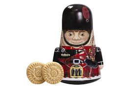 Walkers Shortbread Piper Tin 7.9oz # 1728
