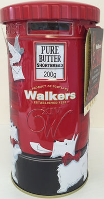 Walkers Shortbread Post Box Tin 200g #1845
