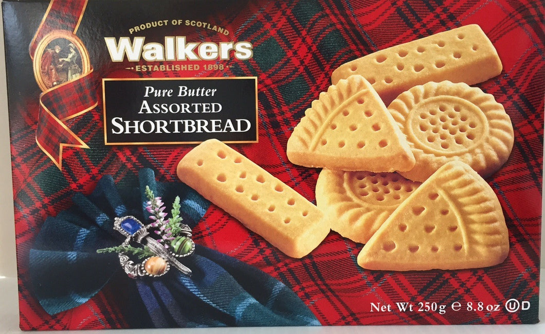 Walkers Shortbread Assorted Selection 8.8oz #1260