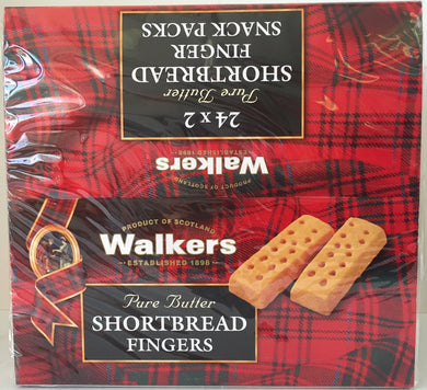 Walkers Shortbread Finger #116 2pk x 24