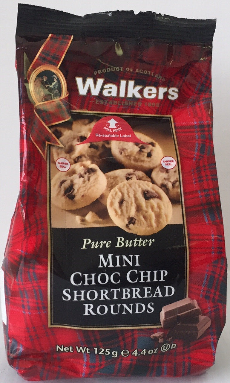 Walkers Shortbread Mini Choc Chip Cello Bag #1768