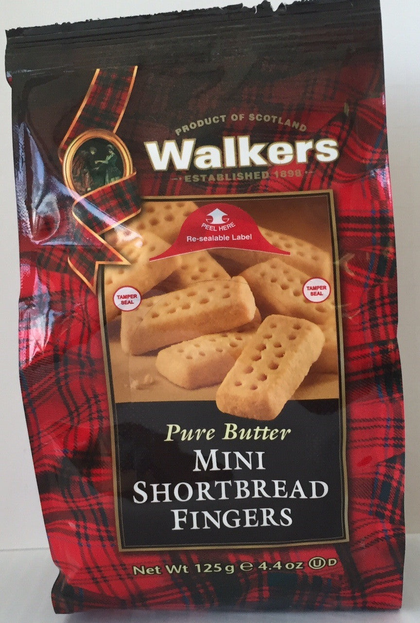 Walkers Shortbread Mini Fingers Cello Bag #1796