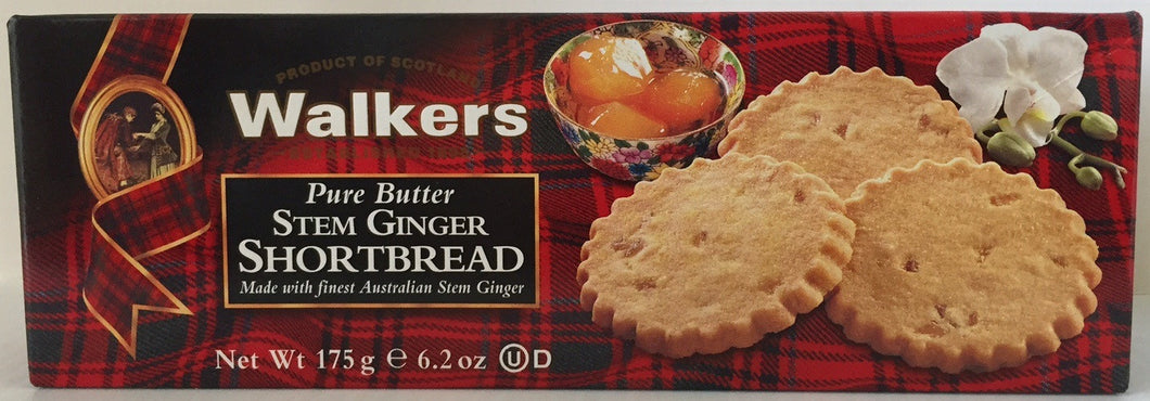 Walkers Stem Ginger Shortbread #151
