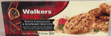 Walkers White Chocolate & Raspberry Biscuit 5.3oz  #5071