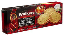 Walkers Stem Ginger Shortbread no.151