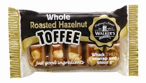 Walkers Nonsuch Hazelnut Toffee Slab Bar 100g