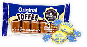 Walkers Nonsuch Original Toffee Slab Bar 100g
