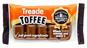 Walkers Nonsuch Treacle Slab Bar 100g