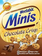 Weetabix Mini Chocolate Crisp 600g
