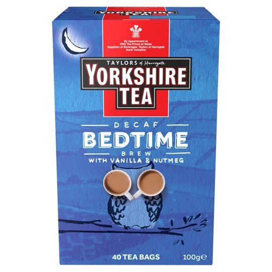 Yorkshire Bedtime Brew Decaf Teabags 40ct