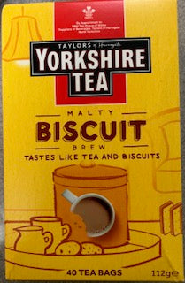 Yorkshire Tea Malty Biscuit Brew 40 teabags
