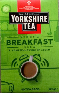 Yorkshire Tea Strong Breakfast Brew 40 Teabags