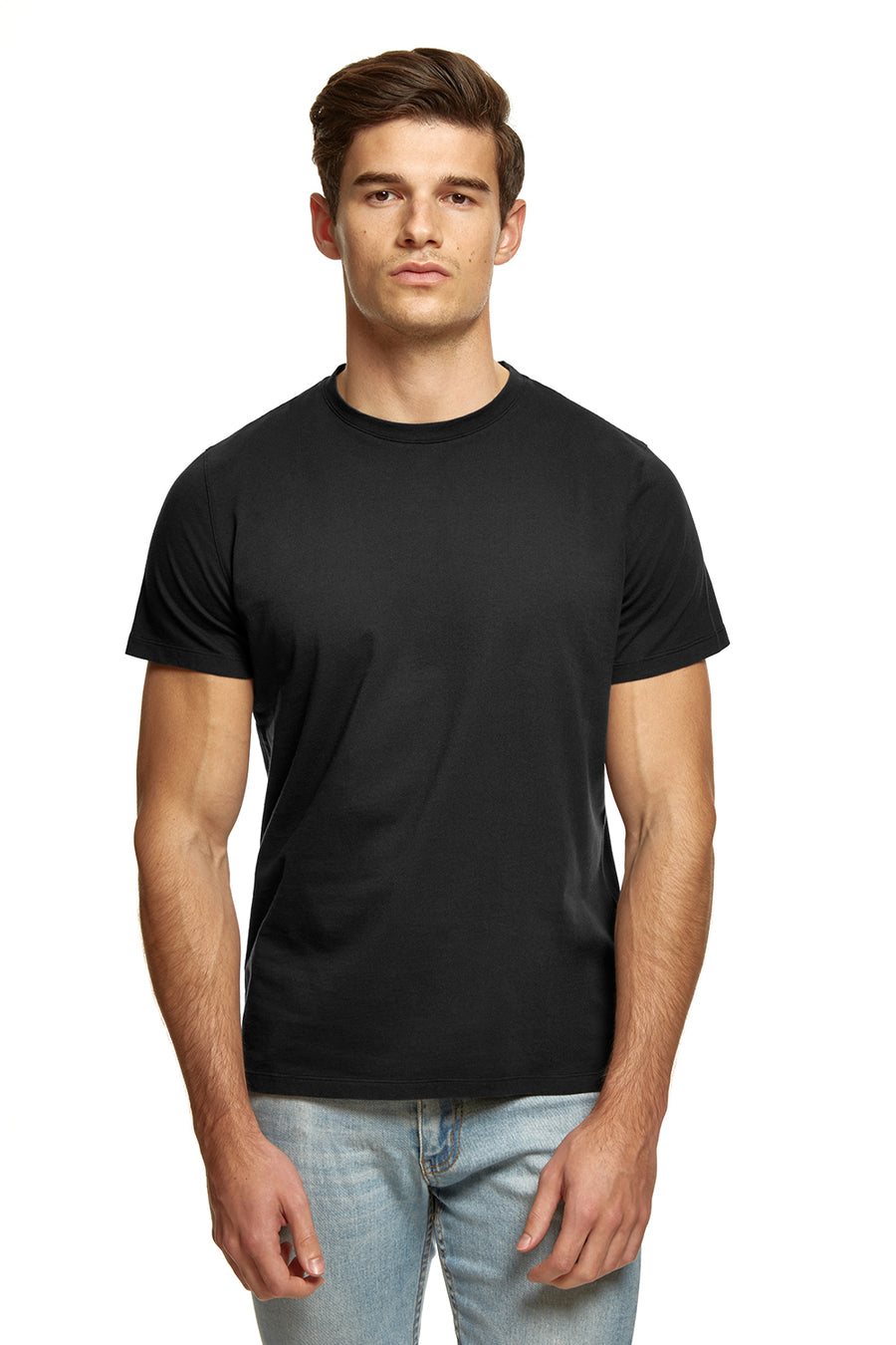 clothPROJECT men's navy ethical sustainable luxury 100% cotton t-shirt with free delivery