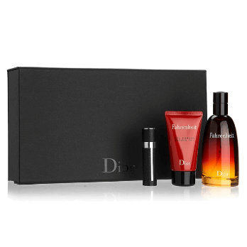 Dior Fahrenheit kit masculino - EAU de Toilette 50ml+Travel size10ml+Gel de banho 50ml