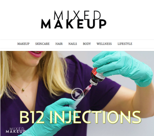 Mixed Makeup - The Sass B12 injections video