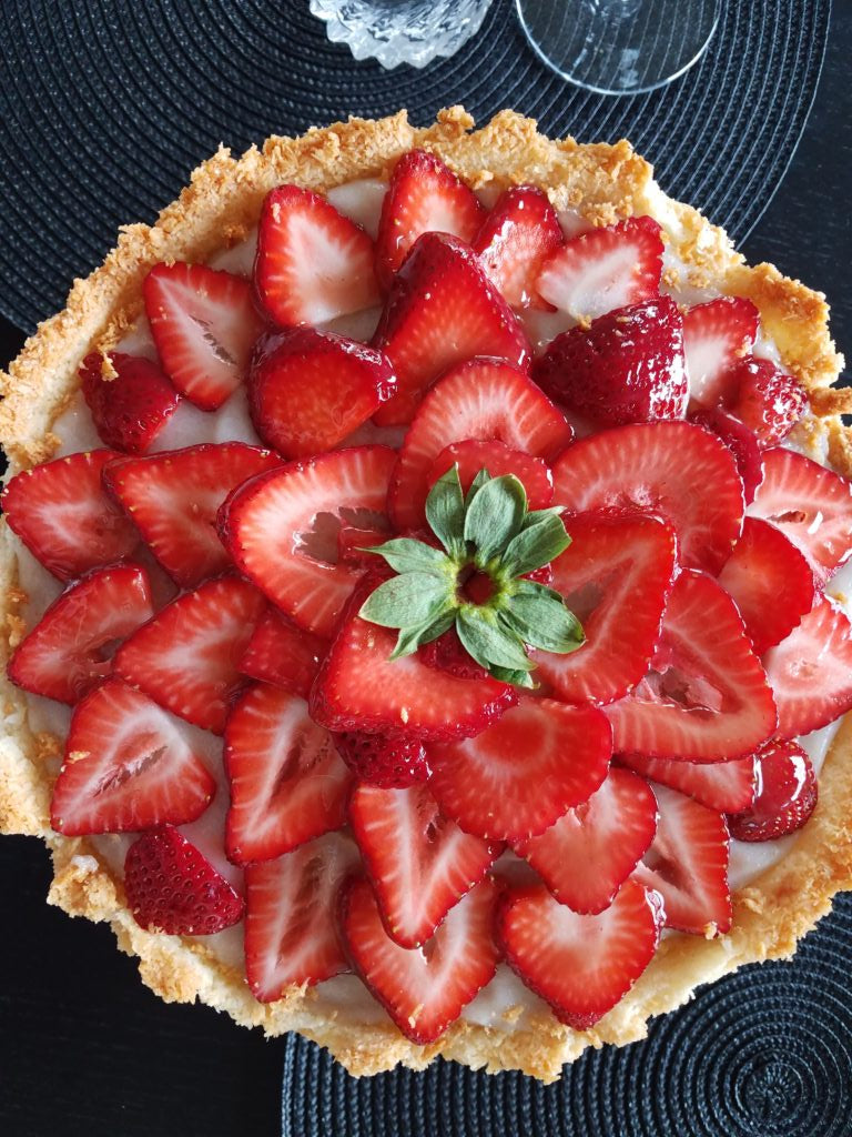 MD Strawberry Tart