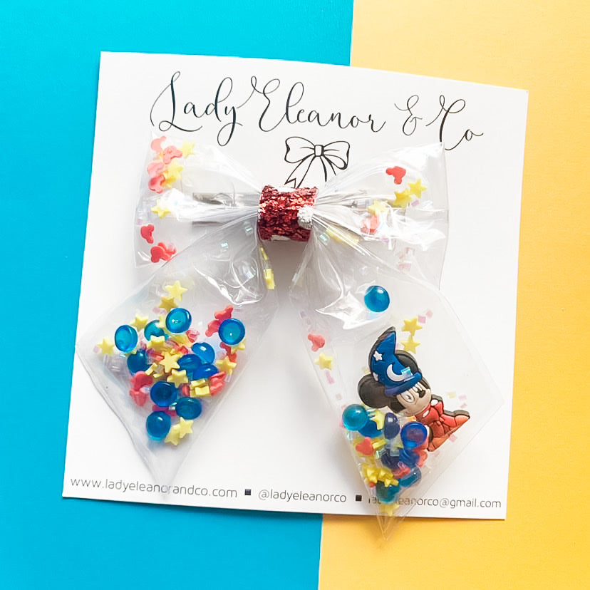 Mickey Mouse Bow -  Little Pair