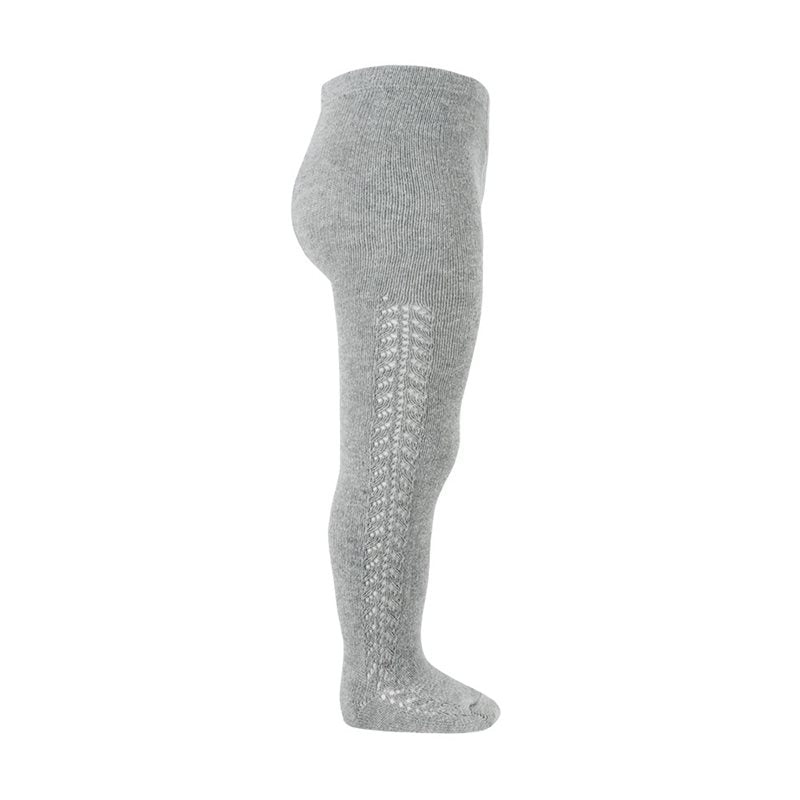 Aluminum Openwork Crochet Tights