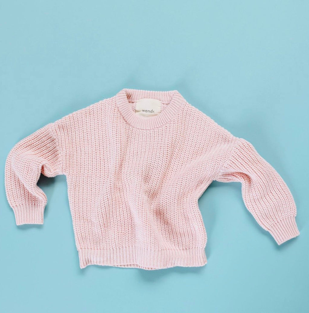 Wandr - Pink Mix Pullover Knit