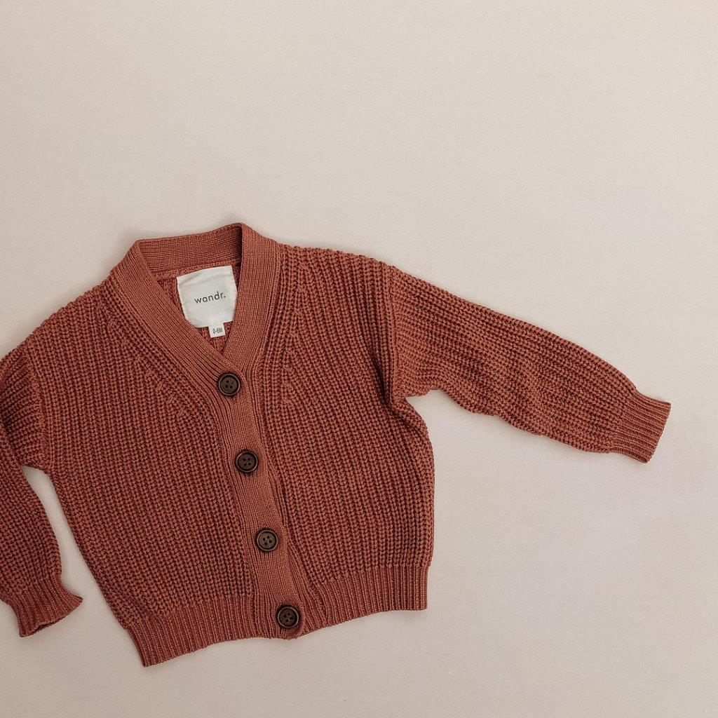 Adventure Awaits Knit Cardigan -Earth