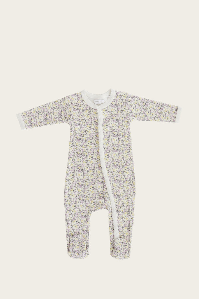 ORGANIC COTTON ONEPIECE - SUMMER FLORAL -  Little Pair