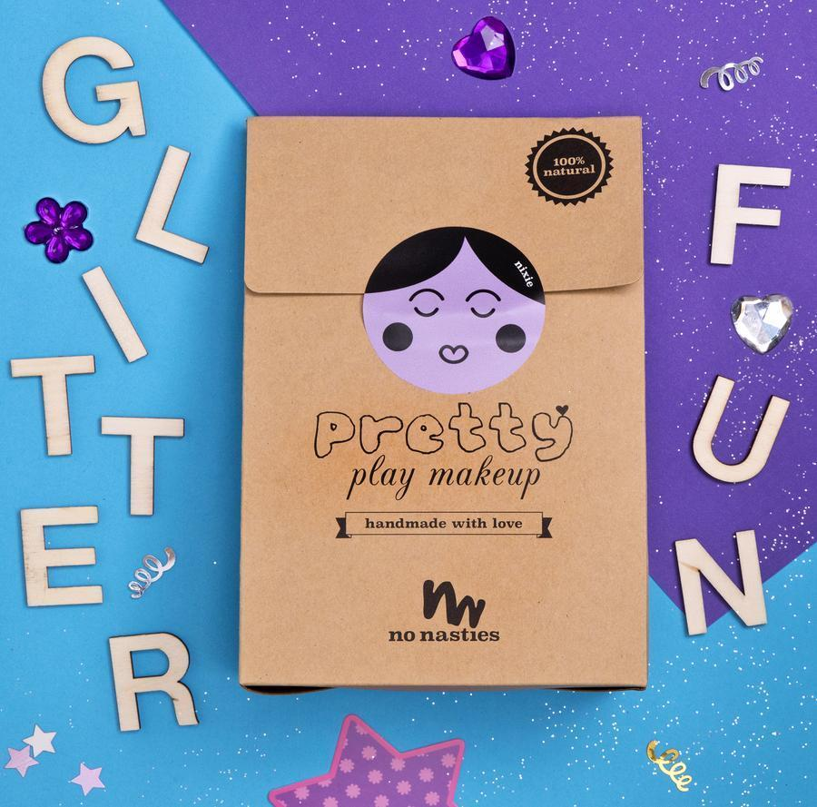 no nasties - NIXIE | PURPLE PRETTY PLAY MAKEUP GOODY PACK -  Little Pair
