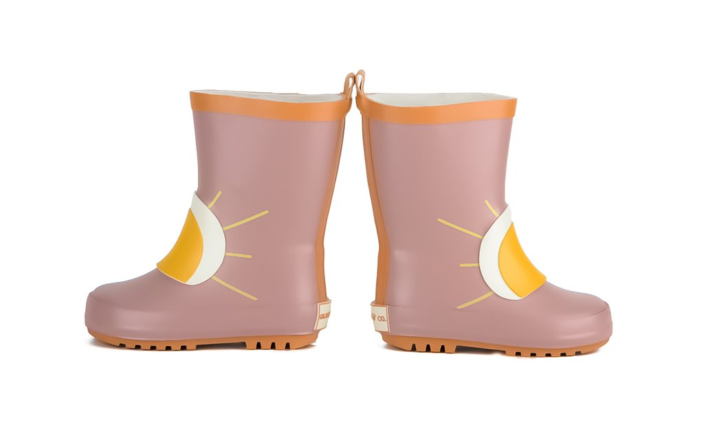 Grech & Co. CHILDREN'S RUBBER BOOTS - SUN -  Little Pair