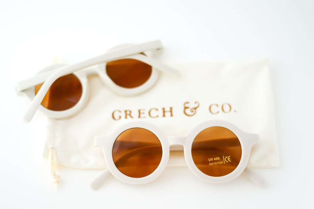 Grech & Co. SUSTAINABLE KIDS SUNGLASSES - BUFF -  Little Pair