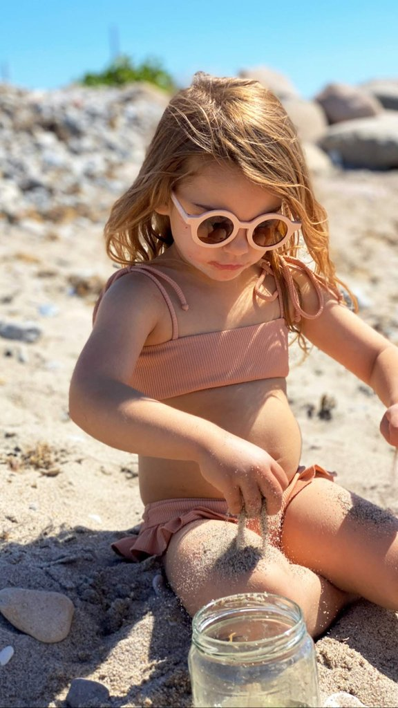 Grech & Co. SUSTAINABLE KIDS SUNGLASSES - SHELL -  Little Pair