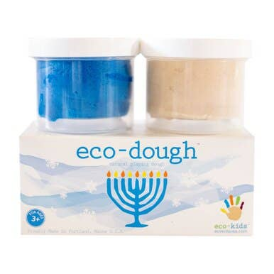 Eco dough - Menorah -  Little Pair