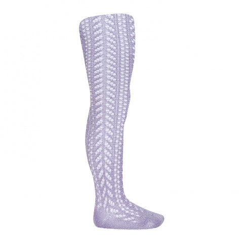Orchid Folk Crochet Tights