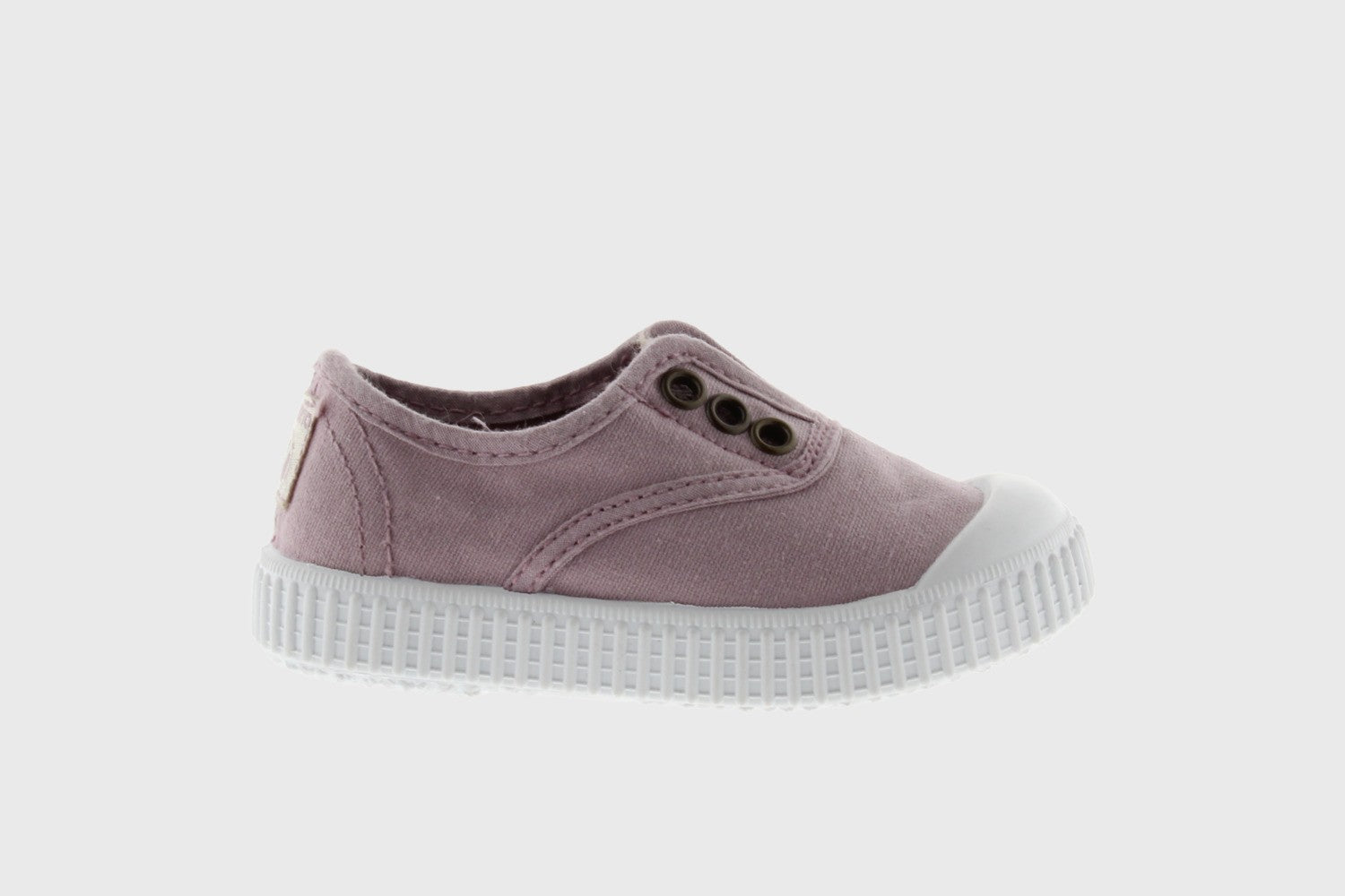 ENGLISH WASHED CANVAS NO LACES AND TOE (pink/red/purple)