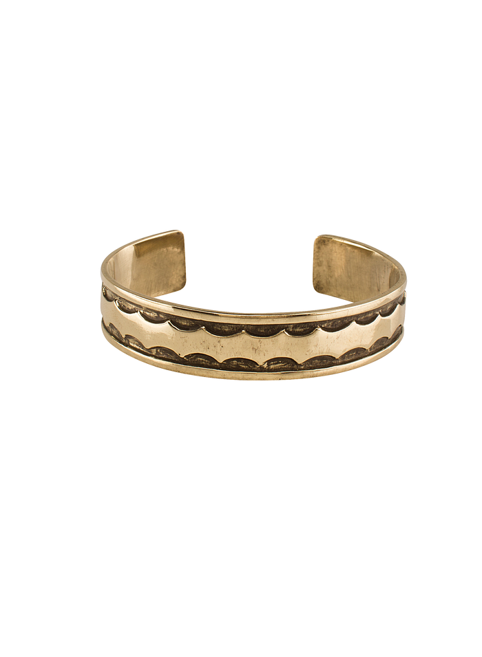 The Base Project | Kavango River Bracelet: Gold Tone