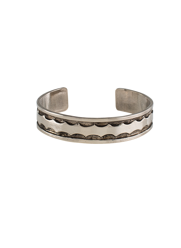 The Base Project | Kavango River Bracelet: Silver Tone