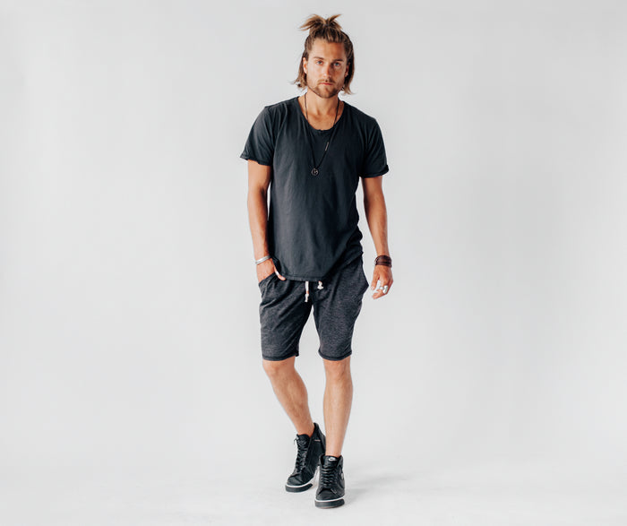 Journey Shorts | Charcoal