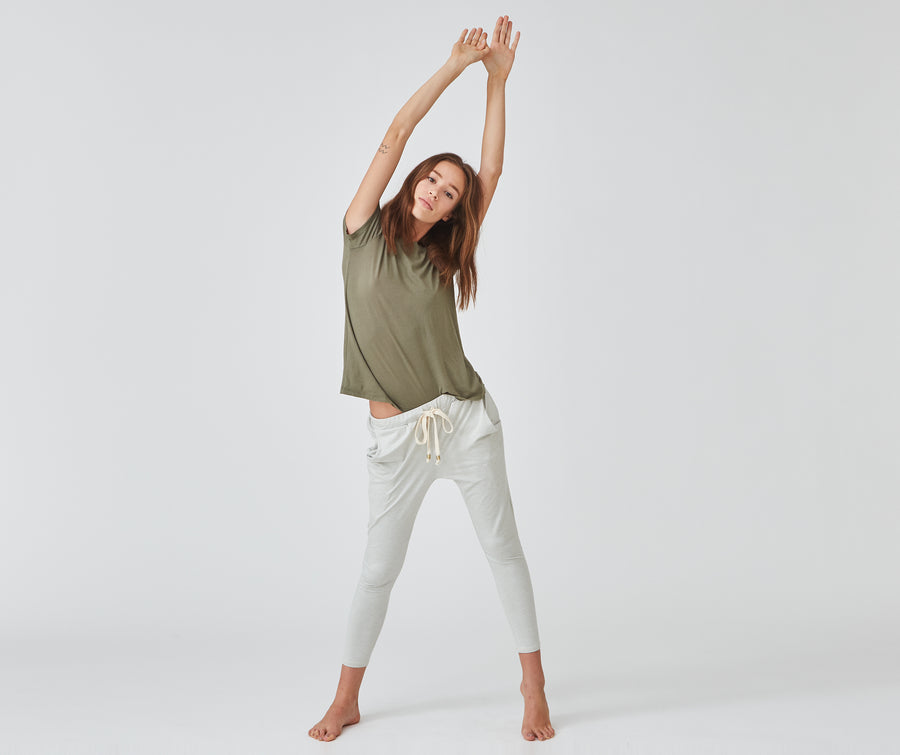Journey Pants | White Sands