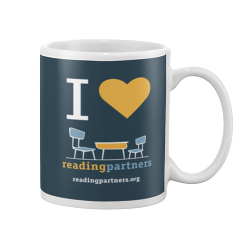 I Heart Reading Partners Mug