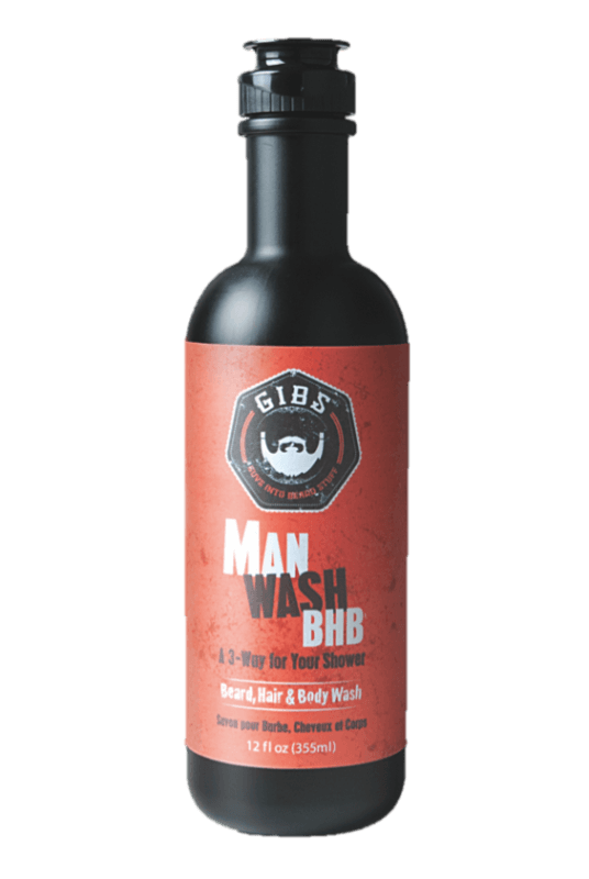 Man Wash:  Beard, Hair, and Body Wash