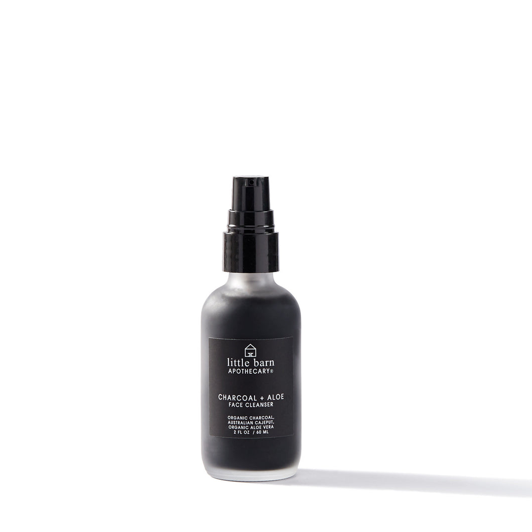 Charcoal + Aloe Facial Cleanser
