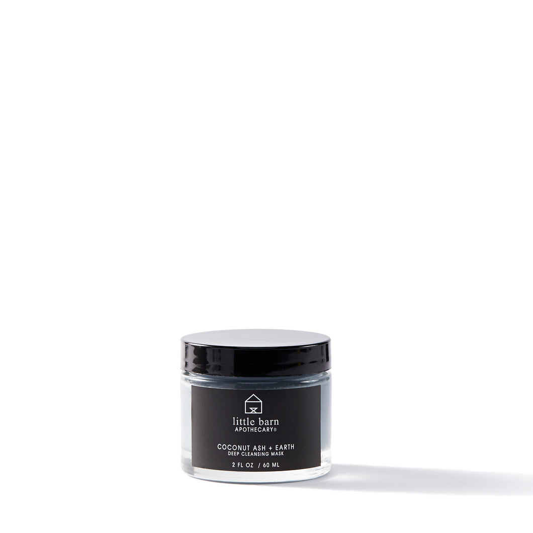 Charcoal Ash + Earth Deep Cleansing Mask